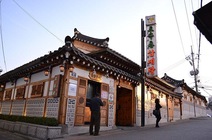 韓国の景福宮にある、また行きたいサムゲタンの美味しいお店「토속촌 トソクチョン 土俗村」