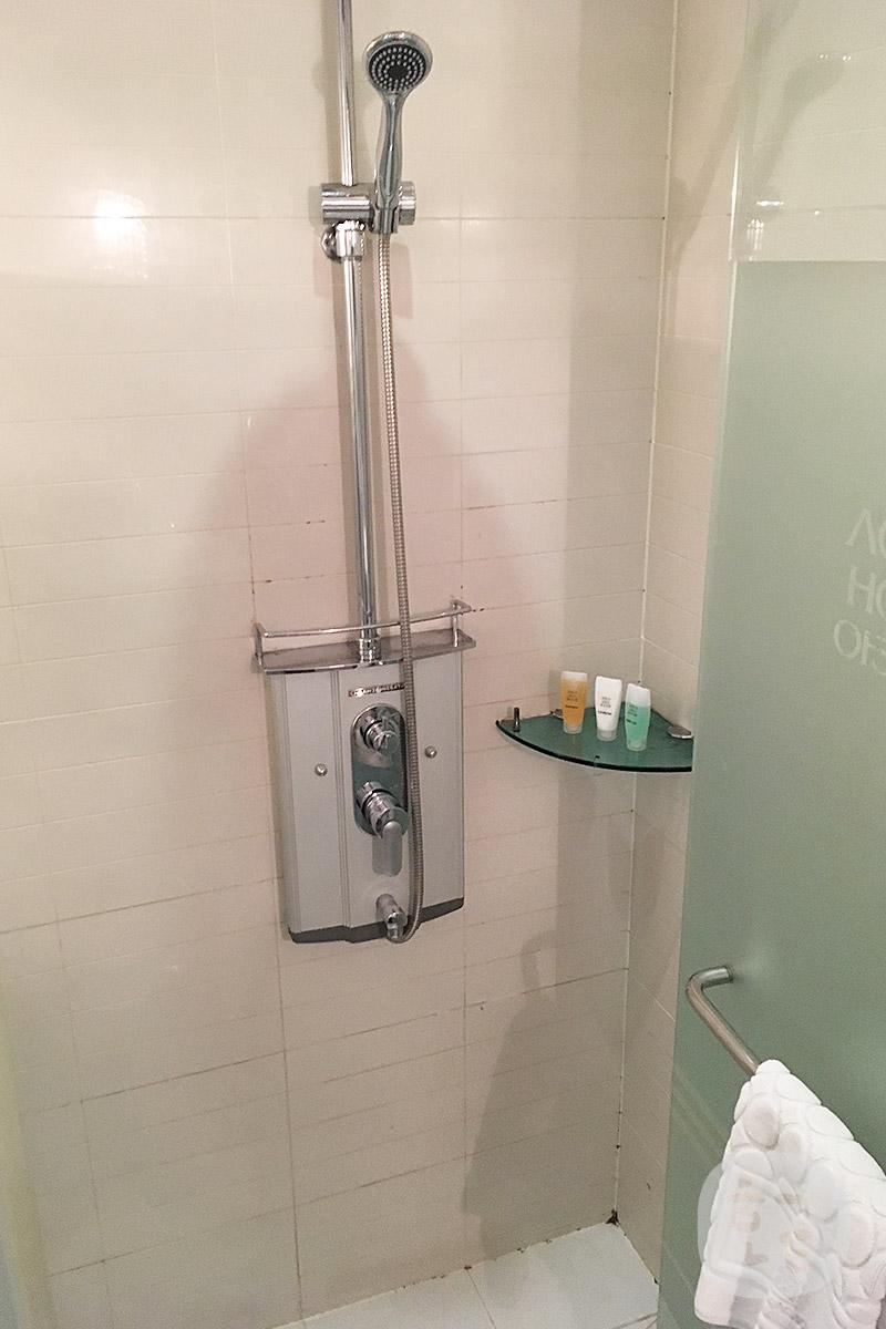 アカシアホテルのシャワールーム